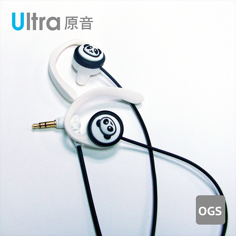 TOPlay聽不累 原音無齡耳機-Q熊貓-長時舒適聆聽 耳機推薦-[H11-B02]