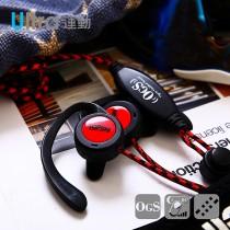 TOPlay聽不累 懸浮式 赤黑-運動風格 耳機推薦-[H132]