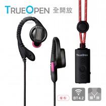 TOPLAY聽不累 [加長電力+語音助理] 防丟藍牙耳機-防潑水 工作 運動 直播耳機-[BT-103暖粉]